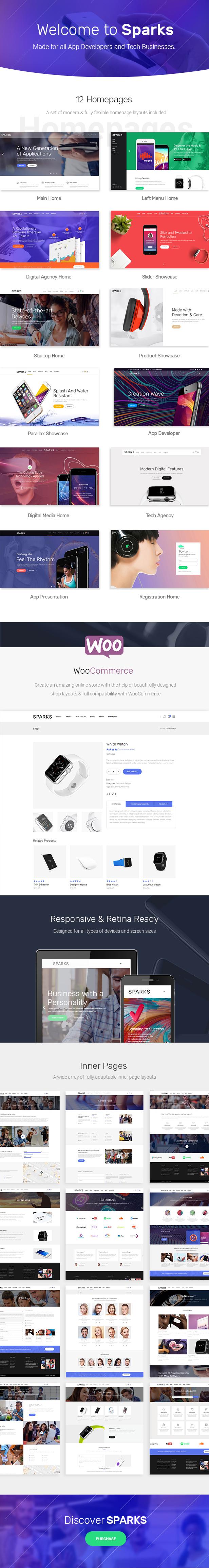 Sparks - App Development & Startup Theme - 1
